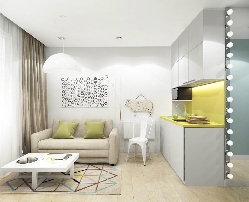 Ремонт в квартире — студии - 2