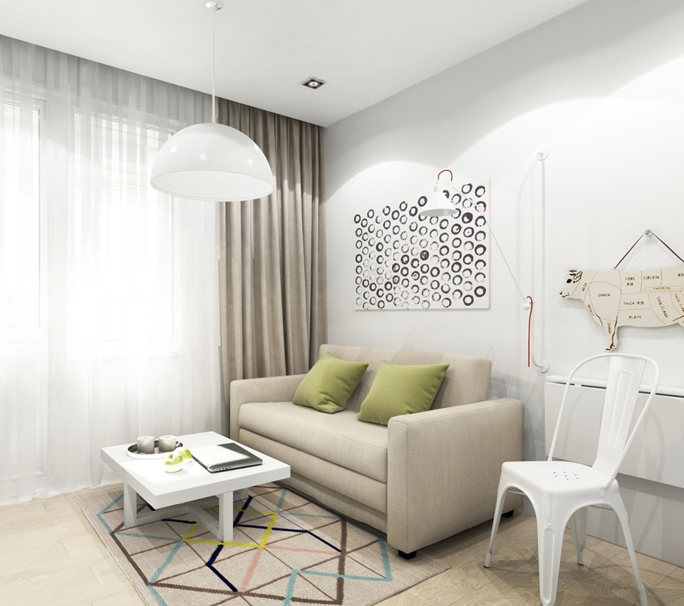 Ремонт в квартире — студии - 3
