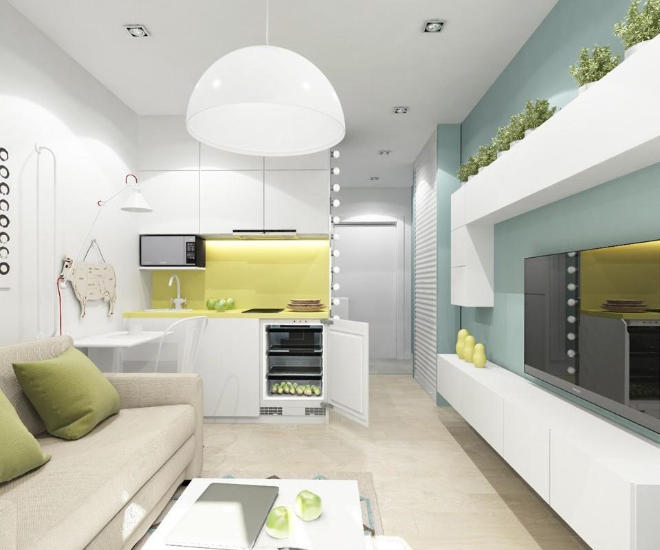 Ремонт в квартире — студии - 6