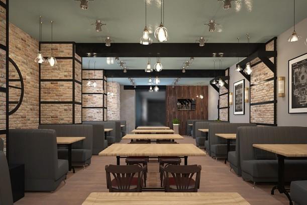 Дизайн-проект кафе самообслуживания «Оливка» на Красном Проспекте, 1 - 1
