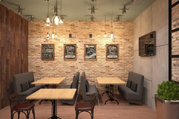 Дизайн-проект кафе самообслуживания «Оливка» на Красном Проспекте, 1 - 6
