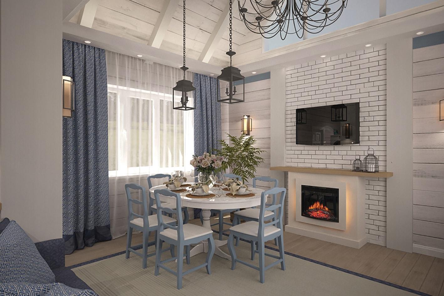 Дизайн-проект частного дома на Сиреневой