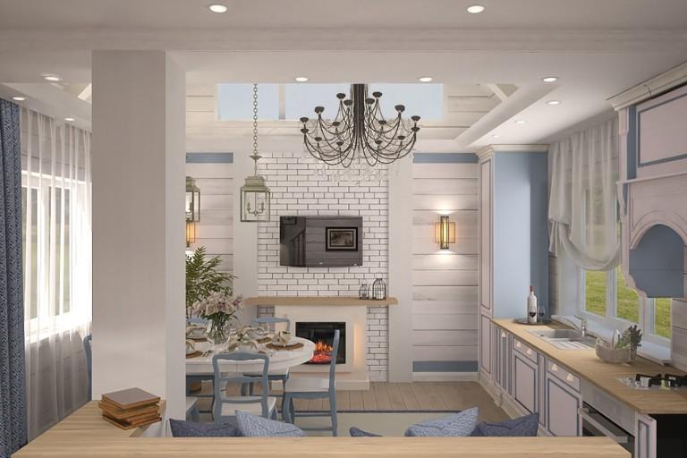 Дизайн-проект частного дома на Сиреневой - 1