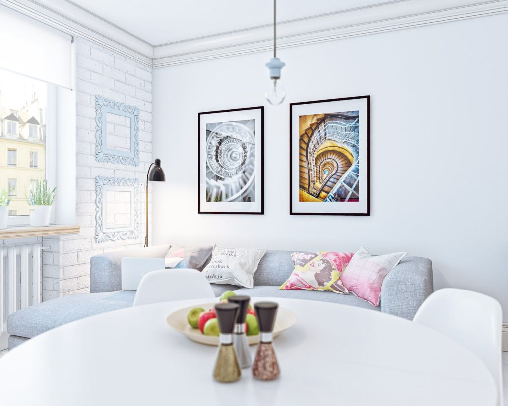 Дизайн-проект замечательной 1-комнатной студии - 3