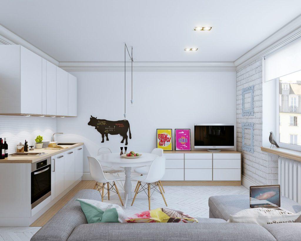 Дизайн-проект замечательной 1-комнатной студии - 4