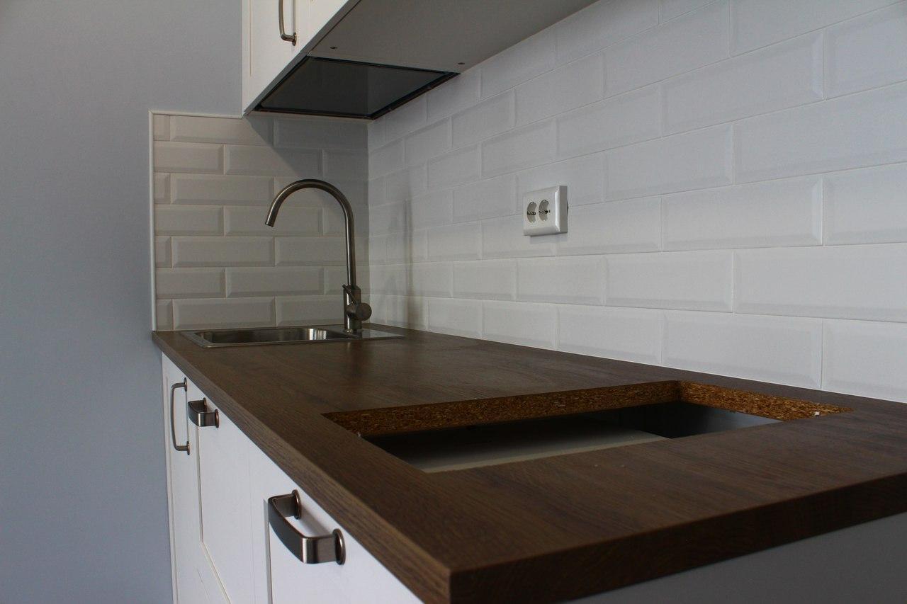 Ремонт кухни на Ольги Жилиной, 32 - 2