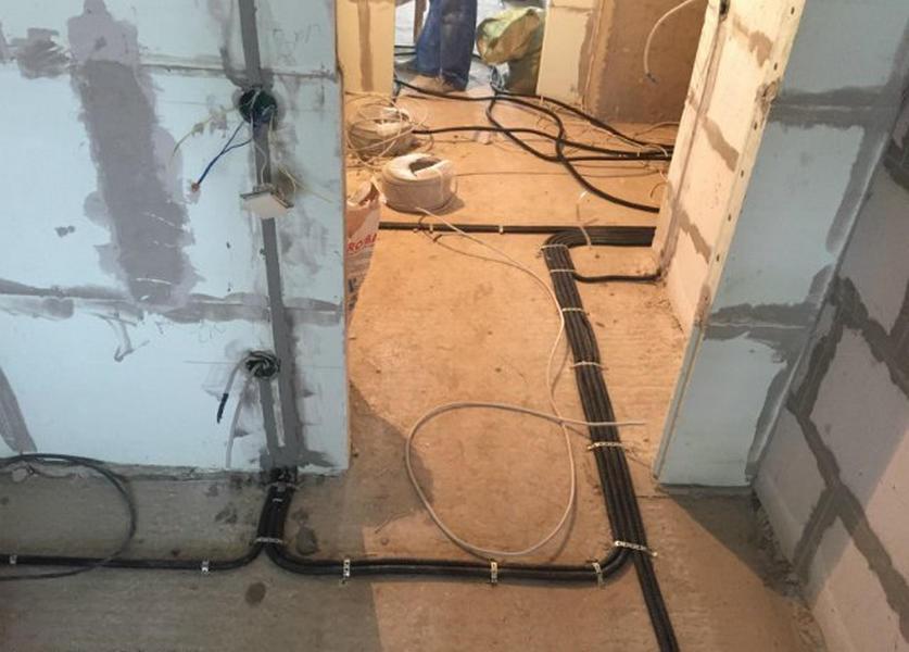 Электромонтажные работы - электромонтажные - 4
