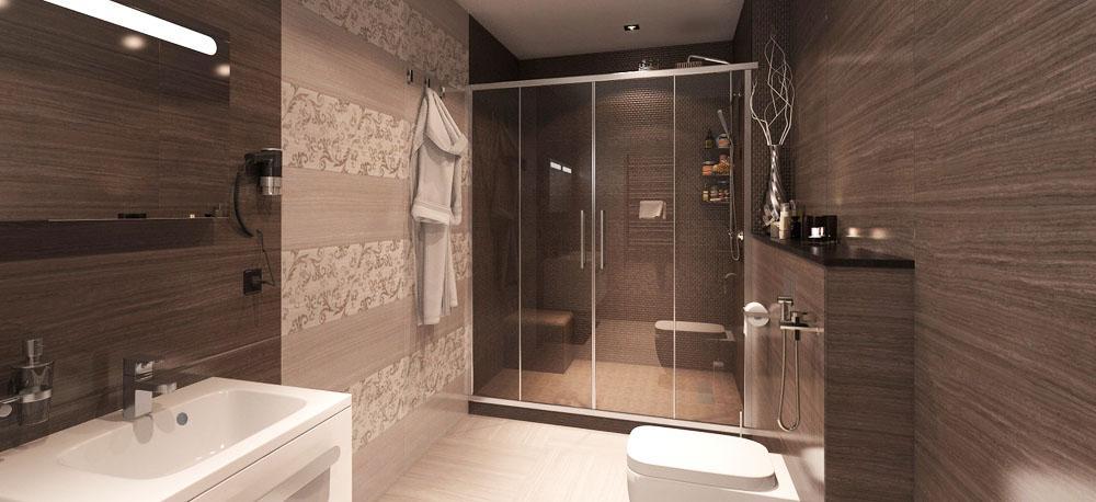 Ремонт и отделка ванной комнаты в Новосибирске