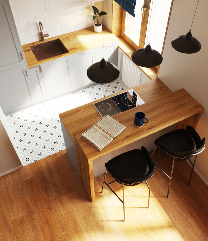 Дизайн проект квартиры в Академе