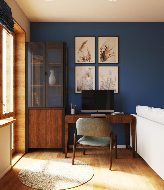 Дизайн проект квартиры в Академе - 2