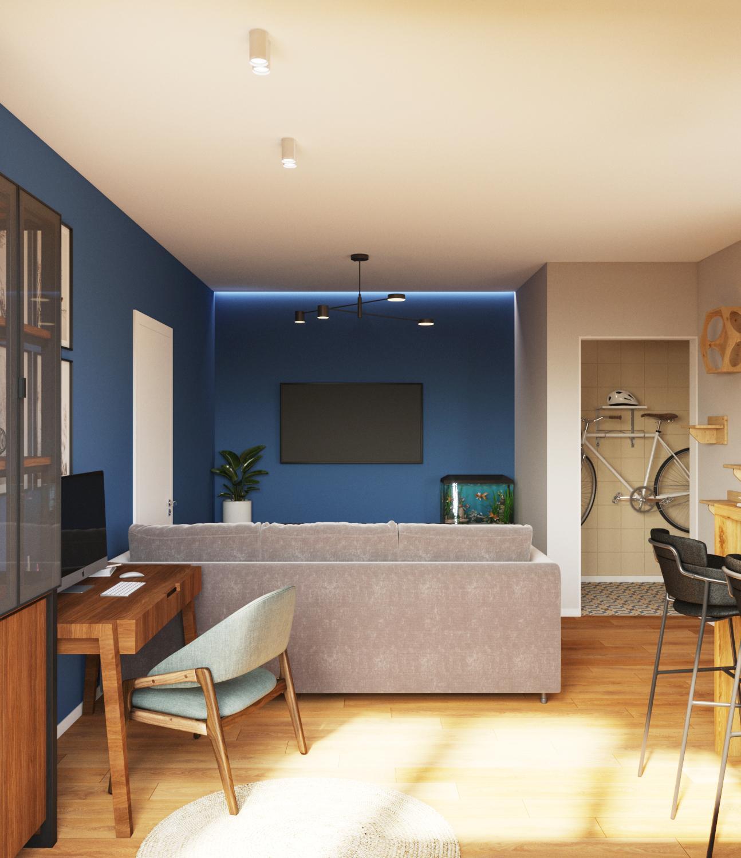 Дизайн проект квартиры в Академе - 4