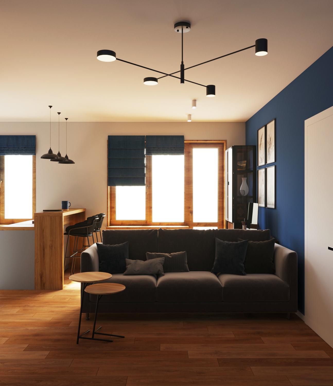 Дизайн проект квартиры в Академе - 6