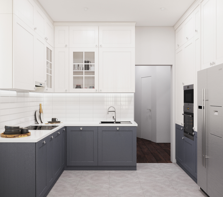 Дизайн проект квартиры Барышево (Инская)