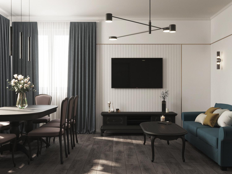 Дизайн проект квартиры Барышево (Инская) - 2