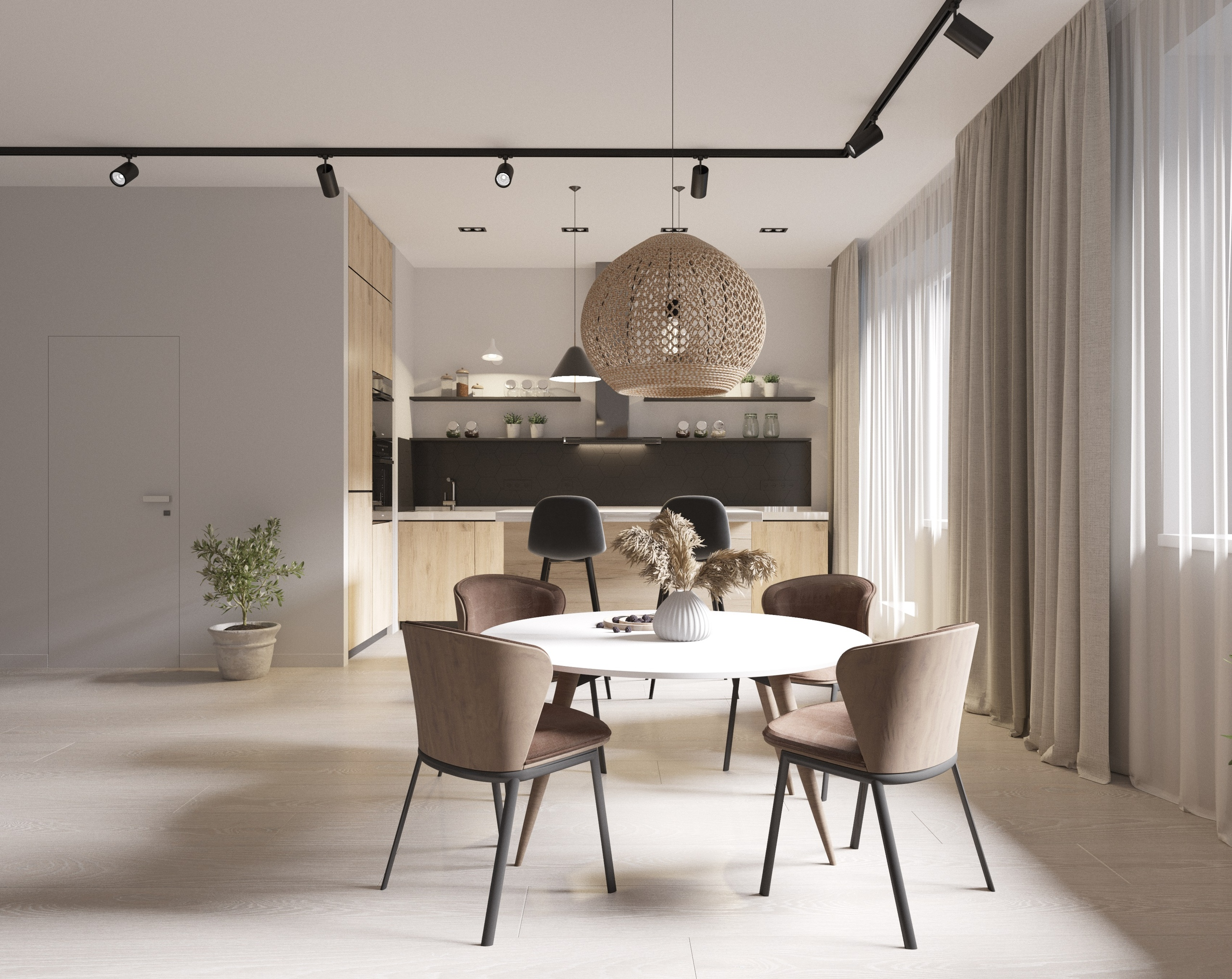 Дизайн проект квартиры в Ложок