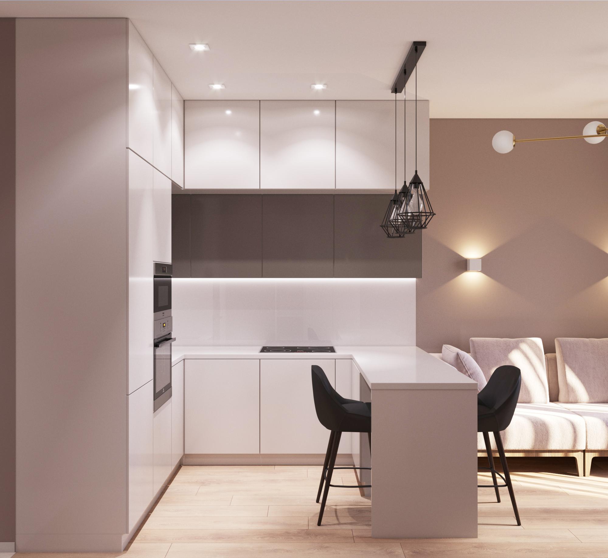Дизайн квартиры в Марсель
