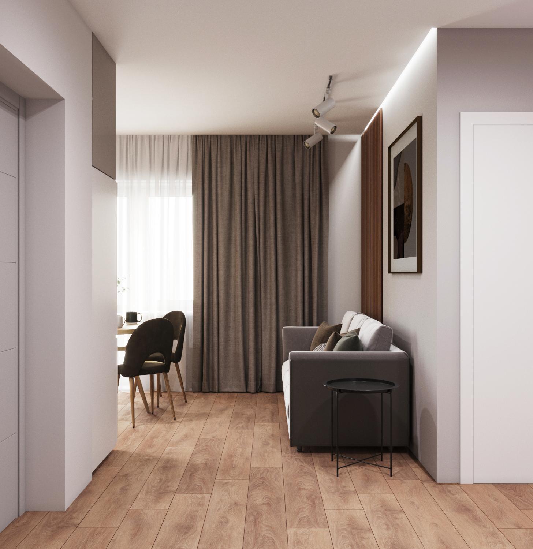 Дизайн квартиры на Мясникова