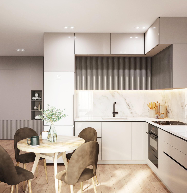 Дизайн квартиры на Мясникова - 4