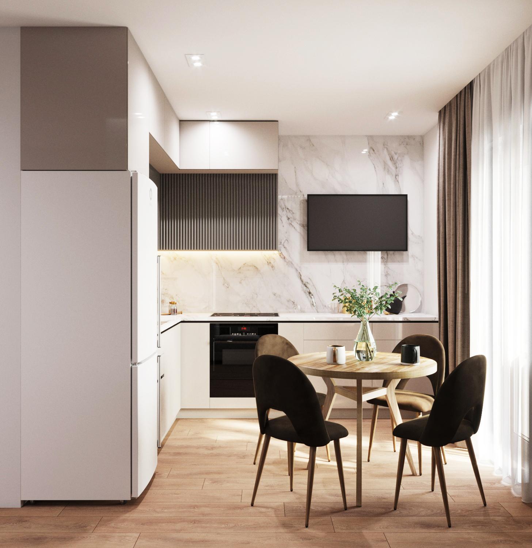 Дизайн квартиры на Мясникова - 7
