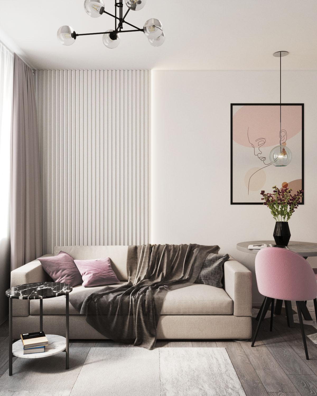 Дизайн квартиры в ЖК Пифагор