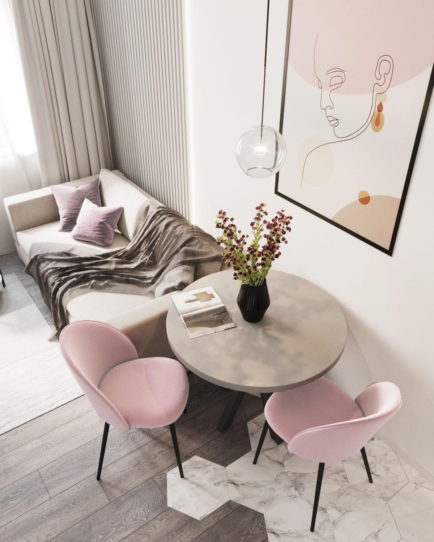 Дизайн квартиры в ЖК Пифагор - 1