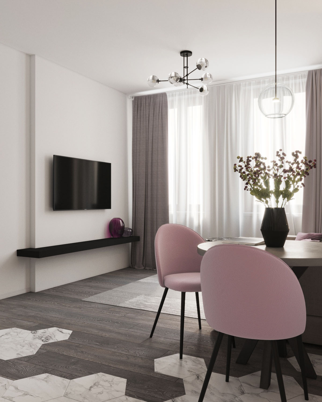 Дизайн квартиры в ЖК Пифагор - 2