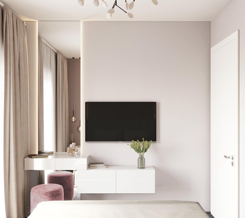 Дизайн квартиры в ЖК Пифагор - 5