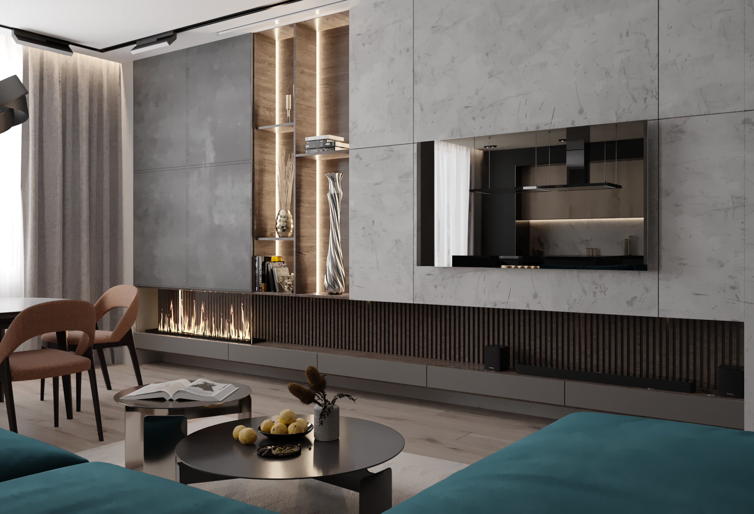 Дизайн квартиры на Зыряновская 60