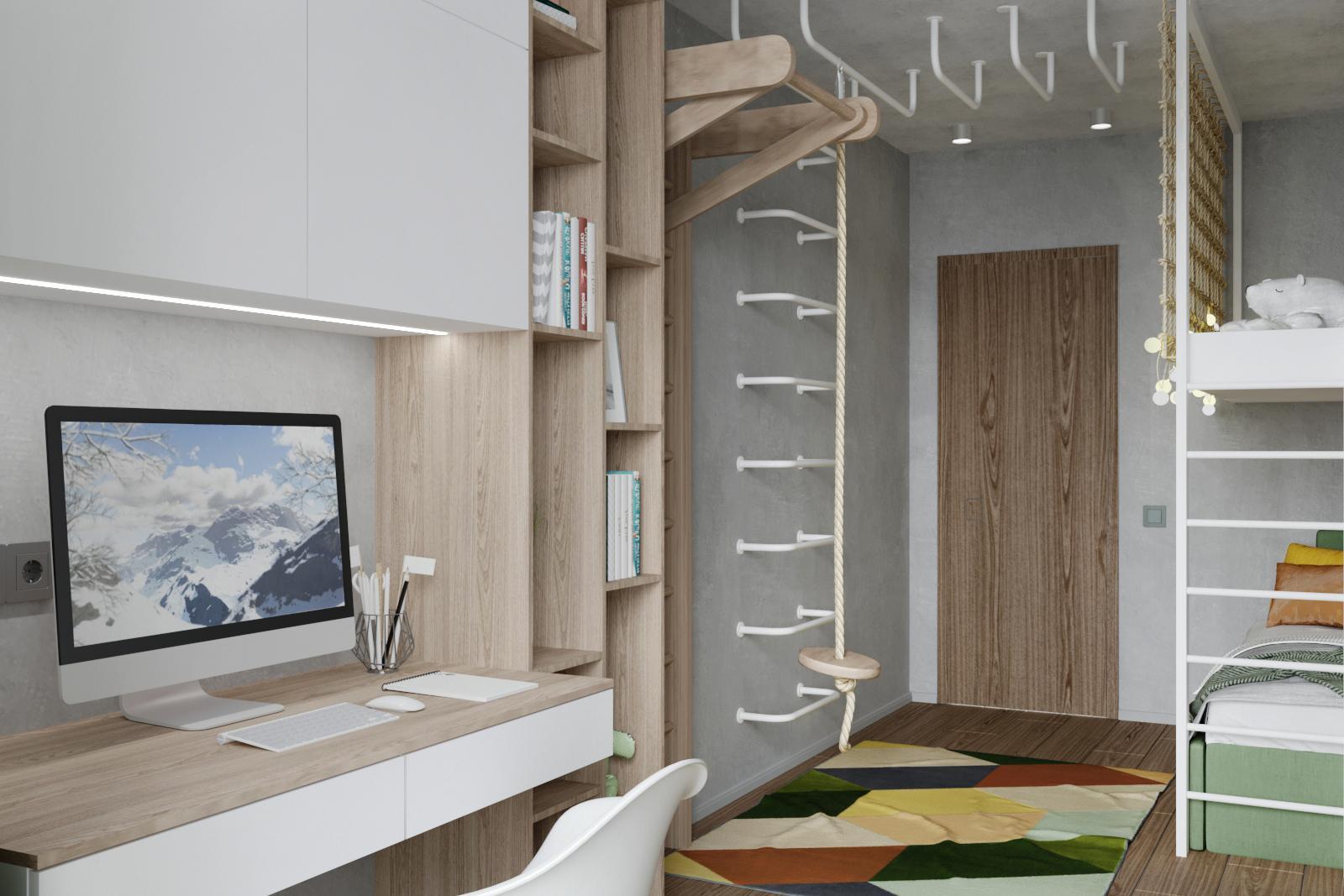 Дизайн квартиры в Панораме - 3