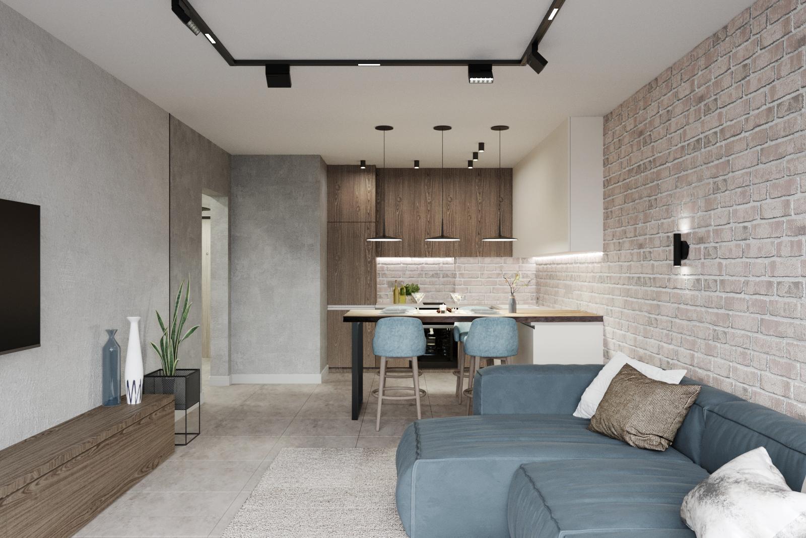 Дизайн квартиры в Панораме - 9