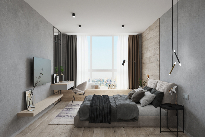 Дизайн квартиры в Панораме - 12